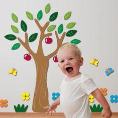 Crearreda stenska dekorativna nalepka, drevo L
