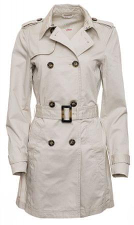 s.Oliver damski płaszcz 34 brązowy