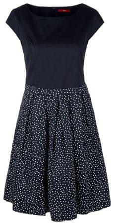 s.Oliver női ruha 38 sötétkék