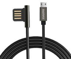 REMAX RC-075m podatkovni kabel micro USB, črn AA-7074