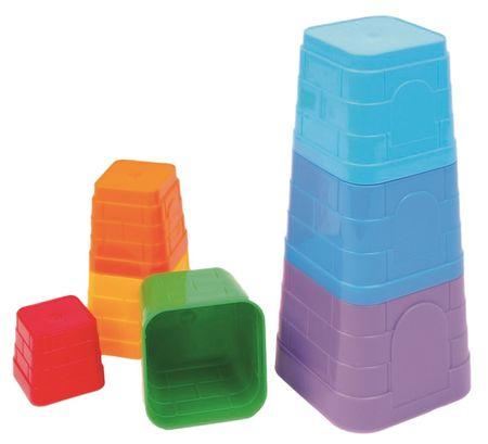 Bino Piramis kuglófformákból