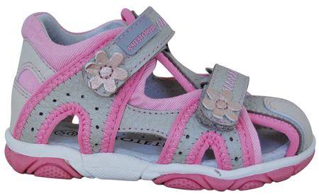 Protetika dievčenské sandále Ibiza 23 béžová