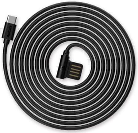 REMAX RC-075a Type C kábel, fekete AA-7076