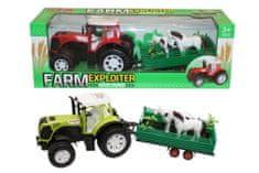 Unika traktor + prikolica set, 56 cm, šk. 25062