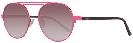 Guess dámské růžové sluneční brýle