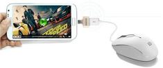 REMAX povezovalni kabel OTG microUSB/USB, zlat/srebrn AA-1113