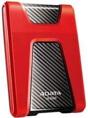 A-Data dysk zewnętrzny HD650 2TB, czerwony (AHD650-2TU31-CRD)