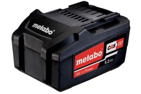 Metabo baterija 18V, 5,2 Ah, Li-Power (625592000)