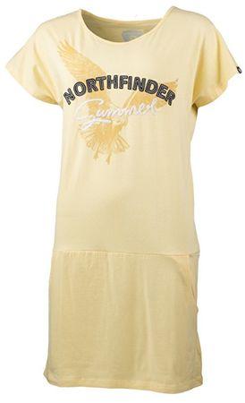 Northfinder Koszulka damska Maxim a Yellow TR-4396SP (Rozmiar M)