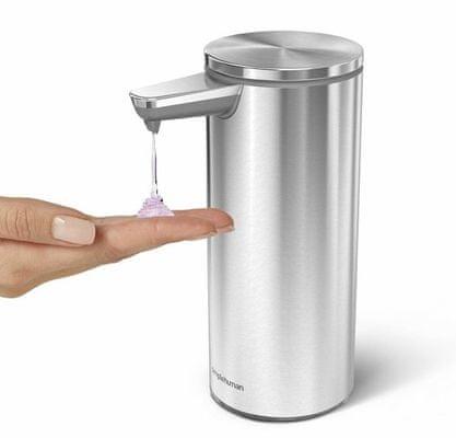 Simplehuman brezkontaktni ventil za razdeljevanje mila