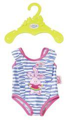 BABY born kostium kąpielowy, niebiesko-biały w paski
