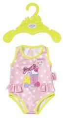 BABY born kostium kąpielowy, różowy w białe kropki