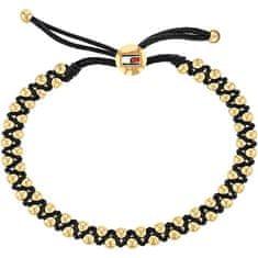 Tommy Hilfiger Moda bransoletka ze złoconymi koralikami TH2780006