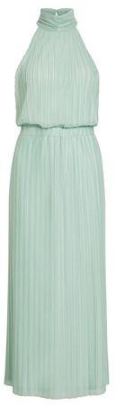 VILA Női ruhaTippy S/L Maxi Dress/Dc Blue Haze (méret L)