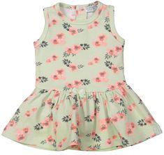Dirkje dievčenské šaty s kvetmi