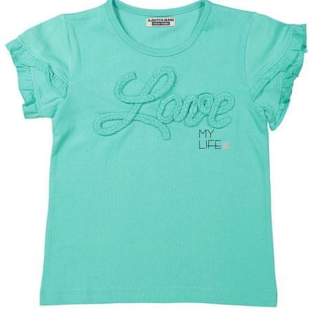 Dirkje koszulka dziewczęca LOVE 92 zielony