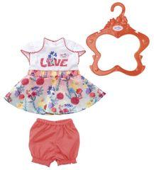 BABY born sukienka 43 cm spódnica w kwiaty
