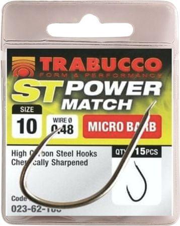 Trabucco Háčky ST Power Match 15 ks 14