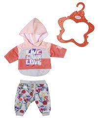 BABY born Trendi trenirka, 43 cm cvetlične hlače