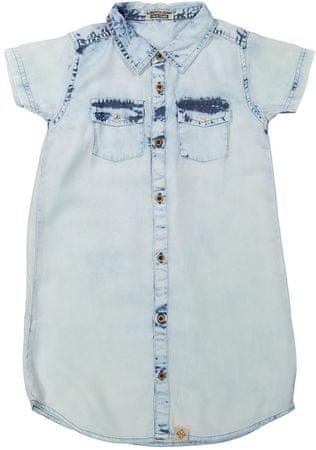 Dirkje sukienka jeansowa dziewczęca 116 jasnoniebieski