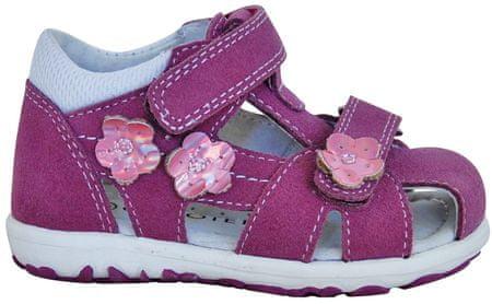 Protetika dekliški sandali Violet, 19, rožnato vijolični