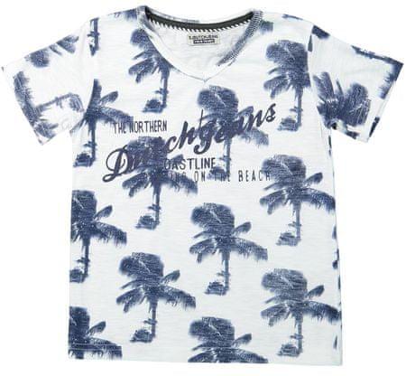 Dirkje fiú póló 92 fehér/kék
