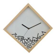 Superposter Drevené nástenné hodiny DEQ282