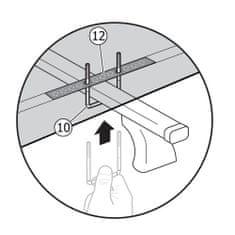 Menabo krovna kutija, U-vijak