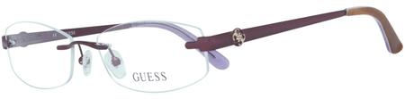 Guess oprawki do okularów damskich, fioletowe
