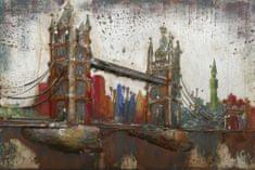 Superposter Kovový obraz 80x120 Tower Bridge