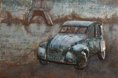 Superposter Kovový obraz 80x120 Citroen