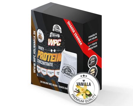 WPC Koliba vanilla 1kg + Šejker