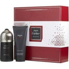 Cartier Pasha De Cartier Edition Noire - EDT 100 ml + sprchový gel 100 ml