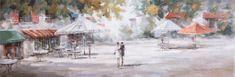 Superposter Maľované originály 50x150 Dovolenka