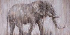 Superposter Maľovaný originál 140x70 Obdobie dažďov