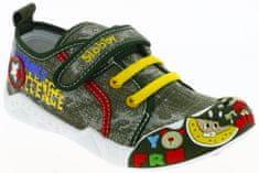 V+J fiú tornacipő képpel