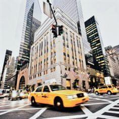 Superposter Obraz na plátne 70x70 Žltý taxi