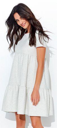 Numinou dámské šaty 42 šedá