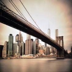 Superposter Obraz na plátne 70x70 Pod mostom