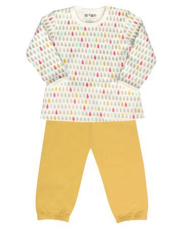 Nini dívčí pyžamo 80 vícebarevná