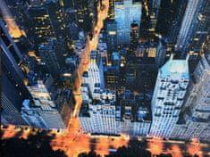 Superposter Obraz na plátne 75x100 Modrá križovatka