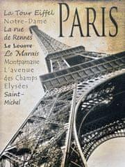 Superposter Obraz na plátne 75x100 Krásy Paríža
