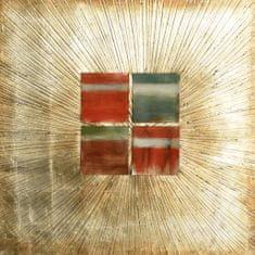 Superposter Maľovaný Originál 100x100 Očný klam