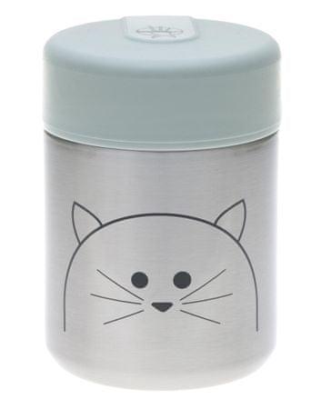 Lässig otroška posoda za shranjevanje hrane Food Jar Little Chums Cat