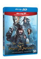 Piráti z Karibiku 5: Salazarova pomsta 3D+2D (2 disky)