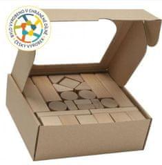 Marimex T-wood Dřevěné kostky 50 kusů