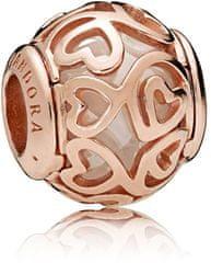 Pandora Luxusné bronzový korálku 787348CZ striebro 925/1000