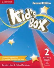 Nixon Caroline: Kid´s Box 2 Second Edition Activity Book + Online Resources