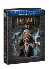 Hobit: Bitva pěti armád - prodloužená verze 3D+2D (5 disků) - Blu-ray