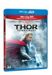 Thor: Temný svět 3D+2D (2BD) - Blu-ray